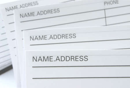 Address & Phone Book #5 Stock Photo