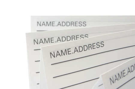 Address & Phone Book #8 Stock Photo