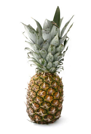 pineapple on white photo