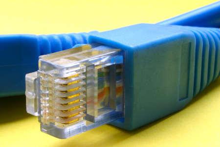 Broadband cable RJ-45 Stock Photo - 303816