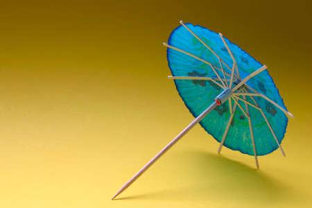 cocktail umbrella - blue #1 photo