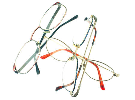 insulate: glasses heap - isolated