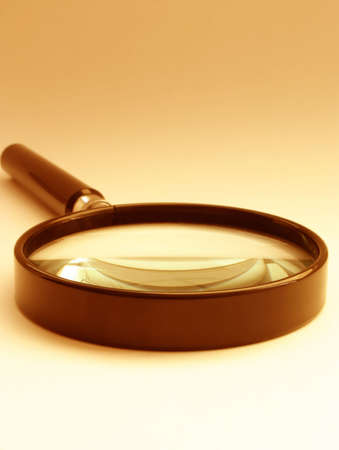 pry: magnifying glass - sephia