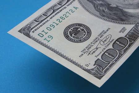cashing: One hundred dollar note