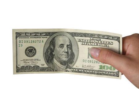 economic rent: One hundred dollars - isolated