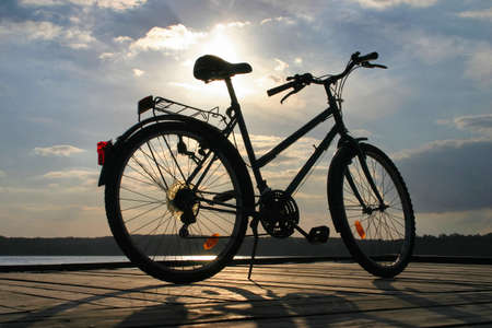 end of a bike trip #3 photo
