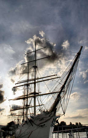 giant sailboat photo