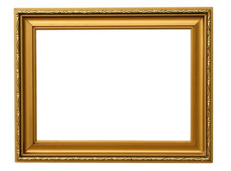 a frill: antique frame #3