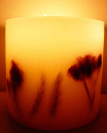 murk: giant candle Stock Photo