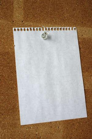 memorise: blank sheet #2 Stock Photo