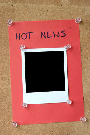 bounds: hot news Stock Photo