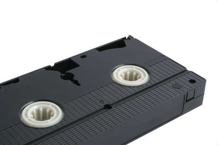 superseded: isolated VHS tape - no shadows