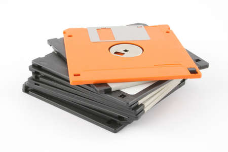 stack of floppy disks photo