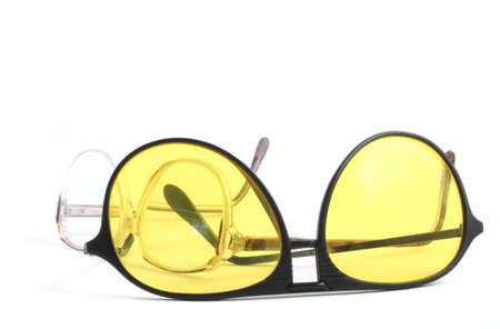 two pairs of glasses on white Stock Photo - 339256