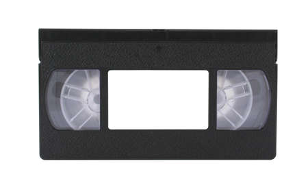 rec: VHS tape with copyspace