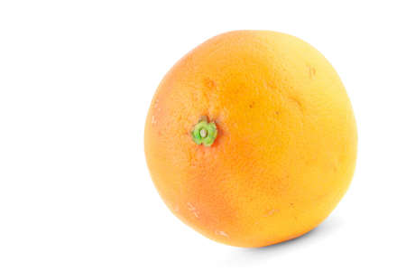 tasty grapefruit on white photo