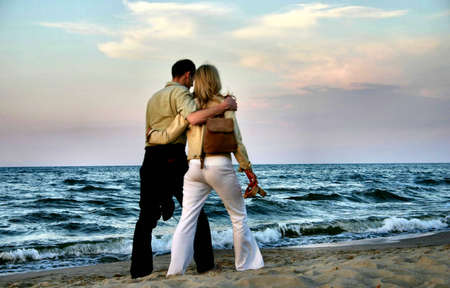 couple amoureux: couple amoureux balade