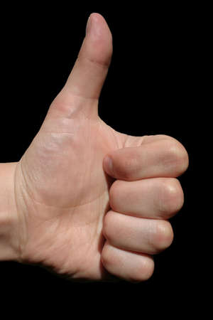 assentiment: attitude positive  Banque d'images
