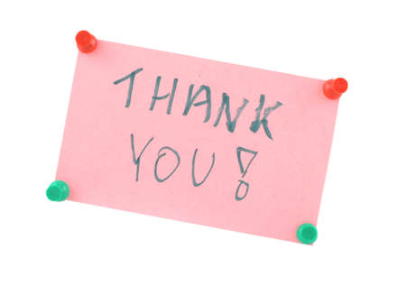 indebtedness: Thank You