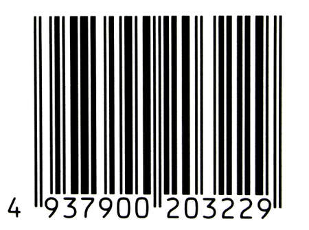 bar code (of non-existing product, numbers have been changed) Stock Photo - 400456
