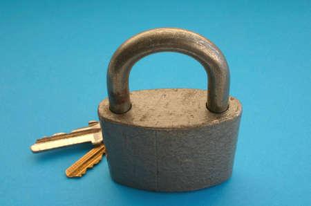 locked photo