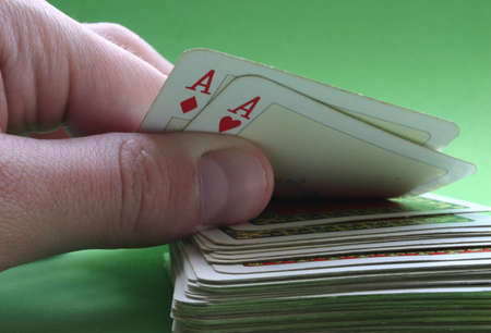 Pair of Aces Stock Photo - 400430