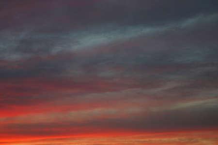 pleasantness: incredible spring sky #2 Stock Photo