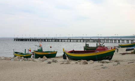 antiguos barcos de pesca Foto de archivo - 407104