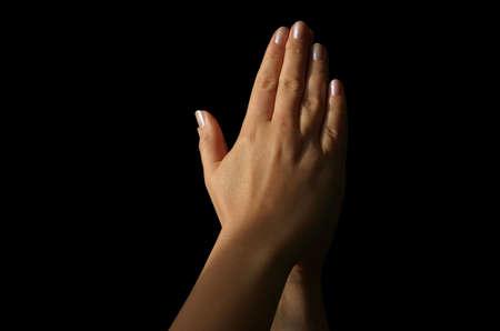 sacrosanct: praying hands