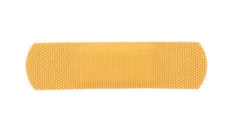 bandaid stripe on pure white background photo
