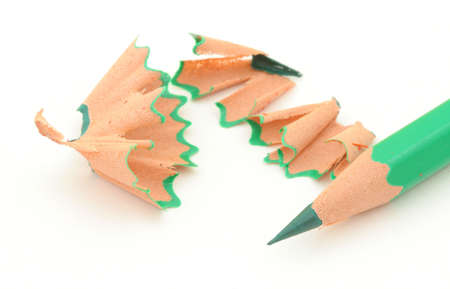 sharpening colored pencils #4 photo