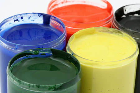 paint pots Stock Photo - 486952