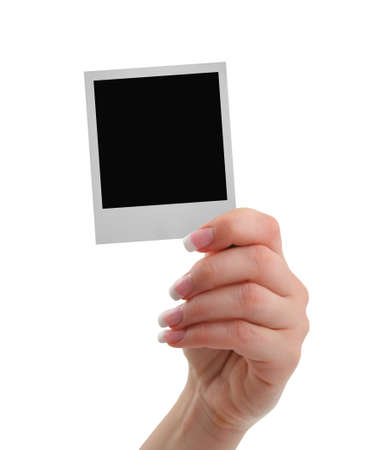 hand with frame Stock Photo - 501296