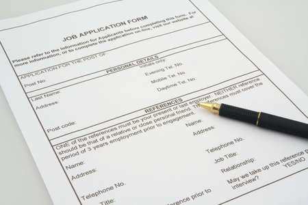 declare: job application form