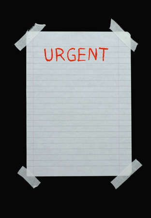 space for urgent notes Stock Photo - 556878