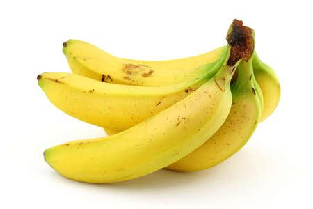 manojo de plátanos maduros Foto de archivo - 593400