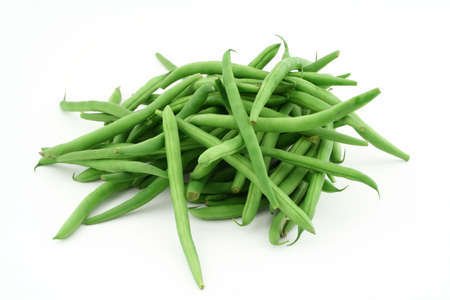 green French beans photo