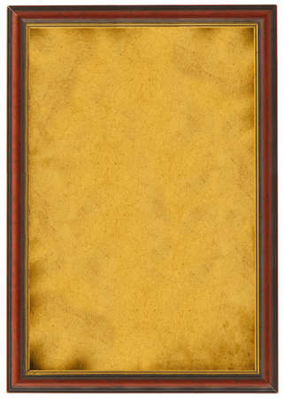 xxl: XXL size empty painting isolated on white Stock Photo