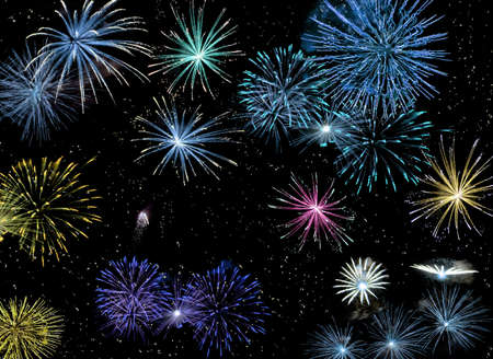 fireworks #2 Stock Photo - 787073