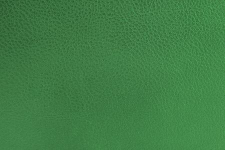 close-up of green leather texture Stock Photo - 786971