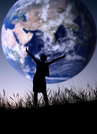 De wereld is de mijne, persoon niet is identifable