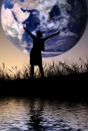 De wereld is van mij, persoon niet identifable