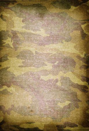 textuur van oude vuile camouflage patroon Stockfoto
