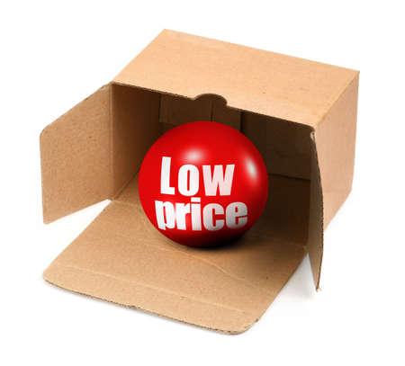 pappkarton: Verkauf Konzept - Offen Karton-und 3D-Verkauf Ball