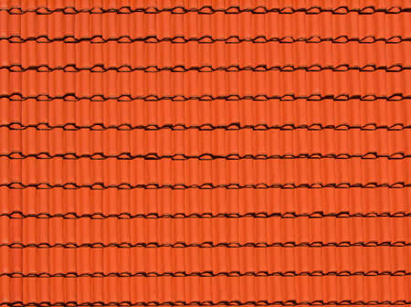 rooftile: abstract background made of bright red roofing tiles
