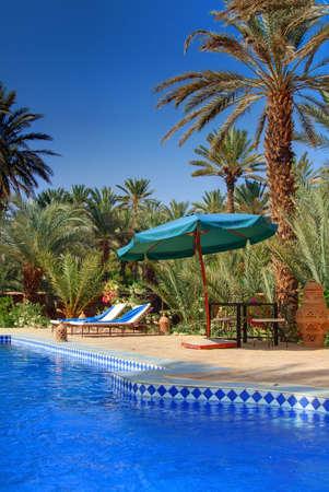 Raum für Entspannung in einer exotischen Ferienplatz