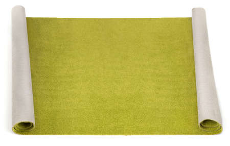 xxxl: xxxl size photo of olive carpet on white background  Stock Photo