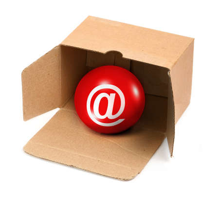 you have got mail in a box, there is no infringement of trademark copyright photo