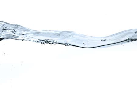 Wasseroberfläche isolated on white background