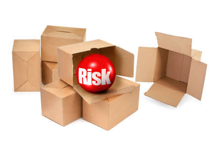 risk concept, there is no infringement of trademark copyright  photo